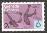 Stamps Grenada -  juegos panamericanos en ciudad de mexico, salto de pertiga