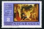 Sellos del Mundo : America : Nicaragua : Ajedrez en la Pintura