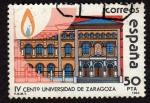 Stamps Spain -  lV Cent.Univearsidad de  Zaragosa