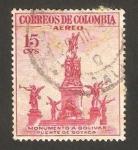 Stamps : America : Colombia :  241 - Monumento a Bolivar, Puente de Boyaca