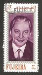 Stamps : Asia : United_Arab_Emirates :  Fujeira, canciller Kurt Georg kiesinger