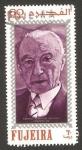 Stamps : Asia : United_Arab_Emirates :  Fujeira, Canciller Konrad Adenauer