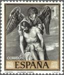 Sellos de Europa - España -  ESPAÑA 1969 1912 Sello **MNH Pintor Alonso Cano Cristo y el Angel