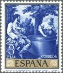 Sellos de Europa - España -  ESPAÑA 1969 1916 Sello **MNH Pintor Alonso Cano Jesús y la Samaritana