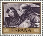 Stamps Spain -  ESPAÑA 1969 1918 Sello **MNH Pintor Alonso Cano San Juan Capistrano y San Bernardino