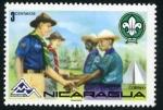 Sellos del Mundo : America : Nicaragua : Boy Scout