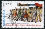 Sellos del Mundo : America : Nicaragua : 2º Aniversario de la Revolución