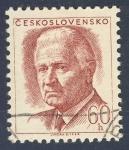Sellos de Europa - Checoslovaquia -  Ludvik Svoboda
