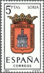 Sellos de Europa - España -  ESPAÑA 1965 1639 Sello Nuevo Serie Escudos Provincias Españolas Soria
