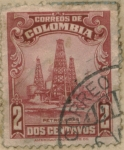 Stamps of the world : Colombia :  Vista ampliada de Colombia
