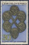 Sellos de Europa - Checoslovaquia -  Zitavska Toñ  VIII-IX Storocie