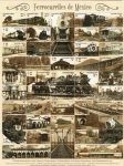 Stamps Mexico -  Ferrocarriles de Mexico