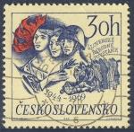 Stamps Czechoslovakia -  Slovenske Narodne Povstanie 1944-1969