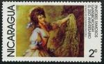 Stamps America - Nicaragua -  Pintores Famosos - Gainsborough