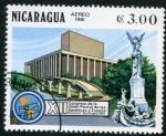 Sellos del Mundo : America : Nicaragua : XII Congreso Union Postal America y España