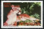 Sellos del Mundo : America : Nicaragua : Puma