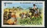 Sellos del Mundo : America : Nicaragua : 150 Aniversario Julio Verne