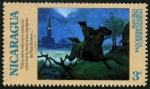 Stamps : America : Nicaragua :  Indepencia de Norteamerica
