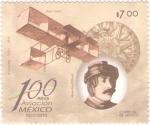 Stamps Mexico -  100 Años de la Aviacion en México 1910-2010
