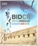 Sellos del Mundo : America : México : BID CII, Asamblea de Gobernadores