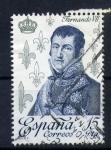 Stamps Europe - Spain -  fernando VII