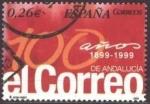Sellos de Europa - España -  ESPAÑA 2003 4028 Sello Centenario Periodico El Correo Andalucia usado