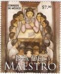 Stamps of the world : Mexico :  Dia del Maestro.