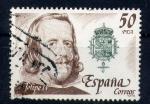 Sellos de Europa - España -  felipe IV