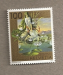 Stamps Switzerland -  Suiza legendaria