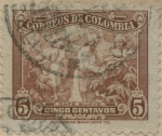 Stamps of the world : Colombia :  Café suave