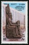 Sellos de Africa - Egipto -  EGIPTO: Antigua Tebas y su necr�polis