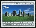Sellos del Mundo : America : ONU : REINO UNIDO - Stonehenge, Avebury y sitios asociados
