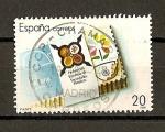 Sellos del Mundo : Europa : España :  Sociedades Filatelicas.