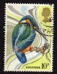Sellos del Mundo : Europa : Reino_Unido :  Kingfisher