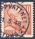 Sellos de Europa - Suecia -  Gustavo V de Suecia