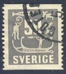 Stamps Europe - Sweden -  Dibujos pre-historicos suecos
