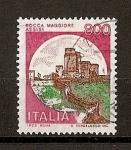 Sellos del Mundo : Europa : Italia :  Castillos.