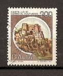 Sellos de Europa - Italia -  Castillos.