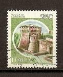 Stamps Italy -  Castillos.