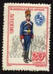 Sellos del Mundo : America : Uruguay : Blandengues de Artigas
