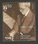 Stamps : Europe : Croatia :  888 - Ivan Matetic Ronjgov, compositor