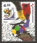 Sellos de Europa - Croacia -  Mundial de fútbol Sudáfrica 2010