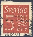 Sellos de Europa - Suecia -  Valor