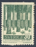 Stamps Europe - Sweden -  Domanverket  1859 1959