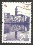 Sellos de Europa - Croacia -  vista de krk