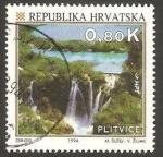 Stamps Croatia -  parque nacional de plitvice