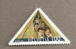 Stamps Switzerland -  100 años movimiento scout