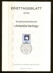 Sellos de Europa - Alemania -  20 Aniversario del tratado de la Antartida.