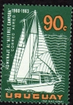 Stamps Uruguay -  Homenaje al Alferez Campora