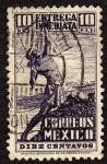 Sellos de America - México -  Timbres pour lettres par exprés